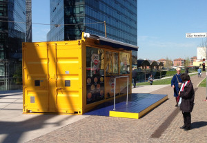 street food BestLocation container cucina attrezzata